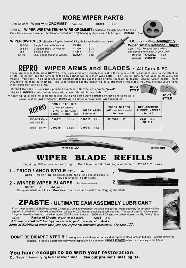 1963 Monza Windshield Wiper Motor Question 1961 Corvair Wiring Diagram The Shop Manual Section And Supplement That Describes Washer Assemblies In Detail Are Also Attached Below