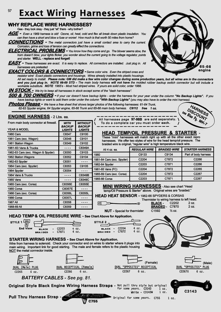 generator belt corvairforum com corvair underground catalog references corvairunderground com